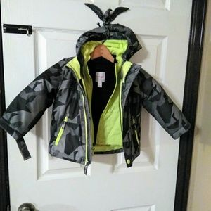 Other - Toddler Boy 3-in1 Winter Coat